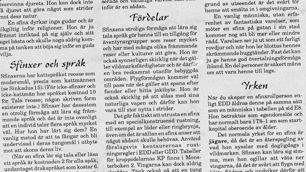Faksimil från tidningen.