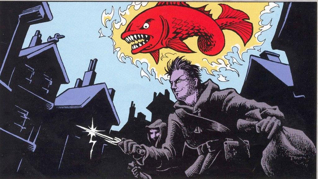 """Osignerad bild till artikeln """"Röda fiskens brödraskap""""."""