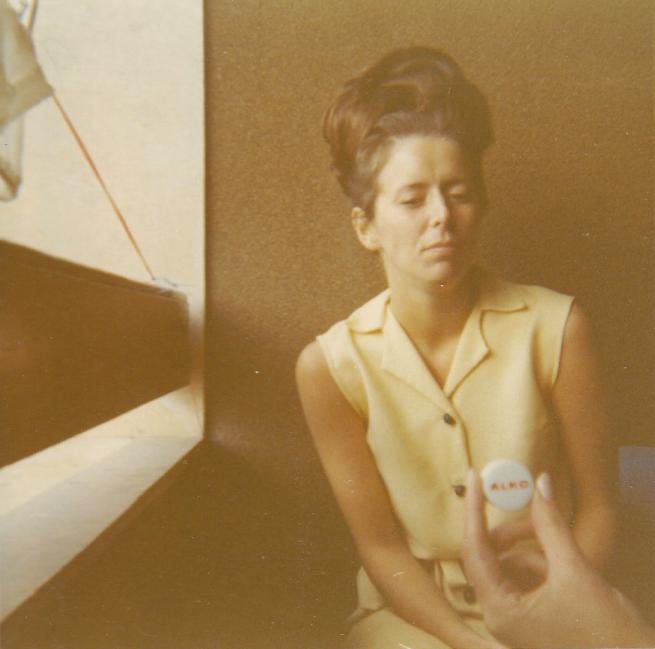 Mamma i Grekland 1967.