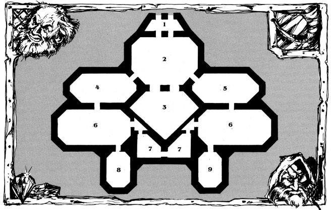 """Karta över ambassaden i Entika, från artikeln """"Ereb Altor-special""""."""