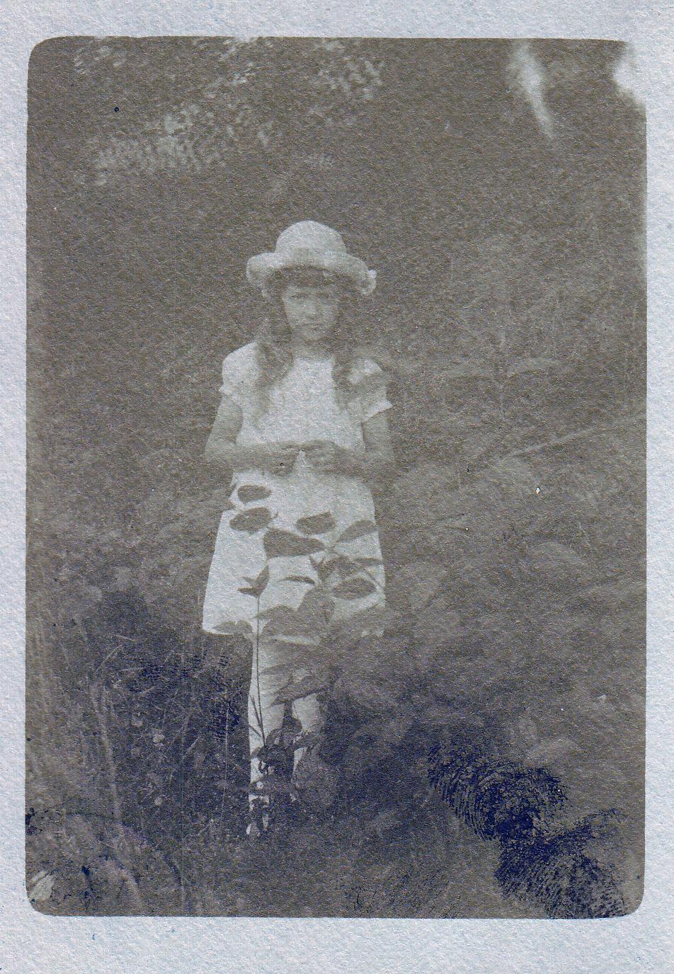 Mormor, 17 april 1921.